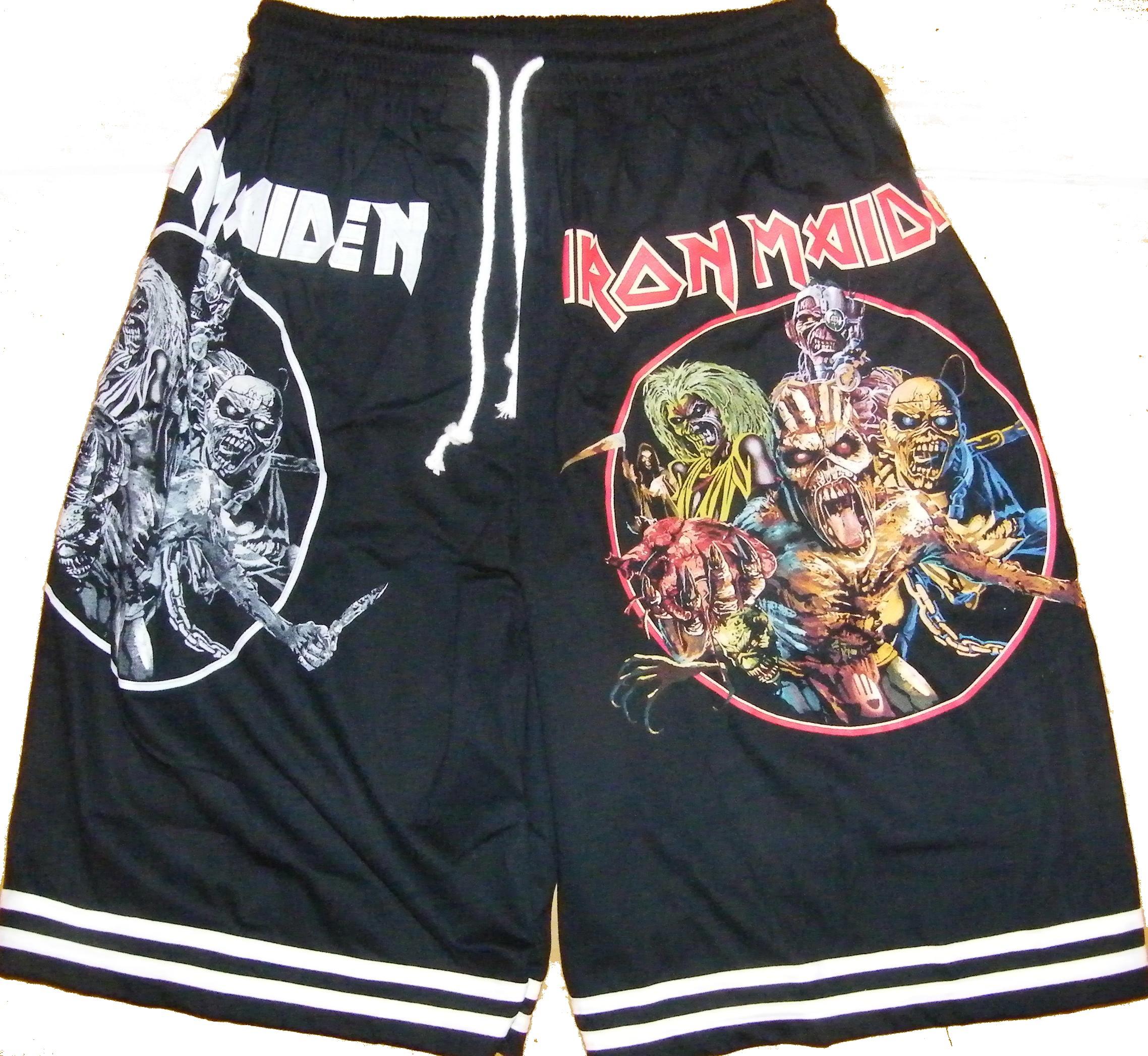 d0528b2a91a23 Iron Maiden shorts – RoxxBKK
