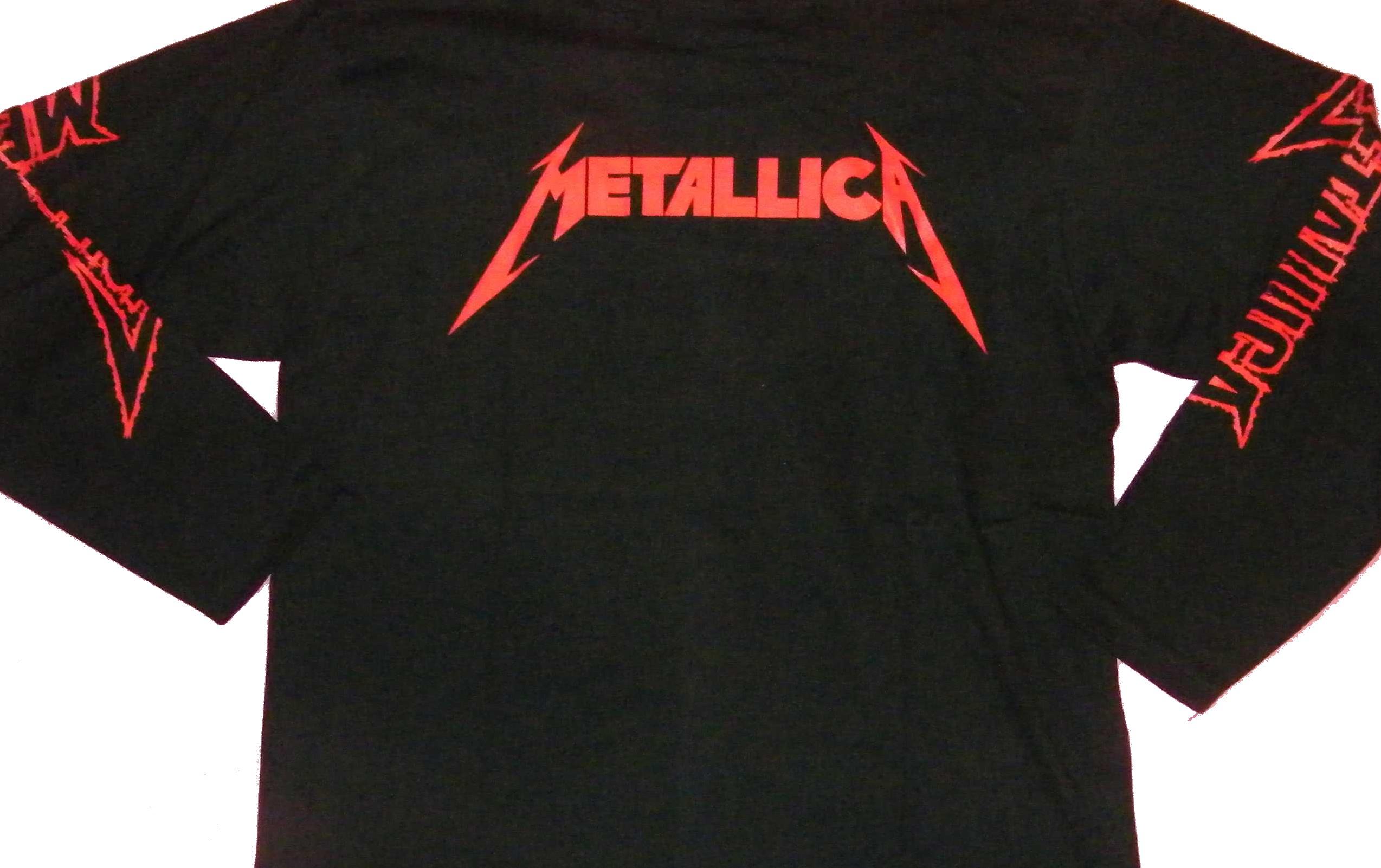 e4977de12 Metallica long-sleeved t-shirt Jump in the Fire size L – RoxxBKK