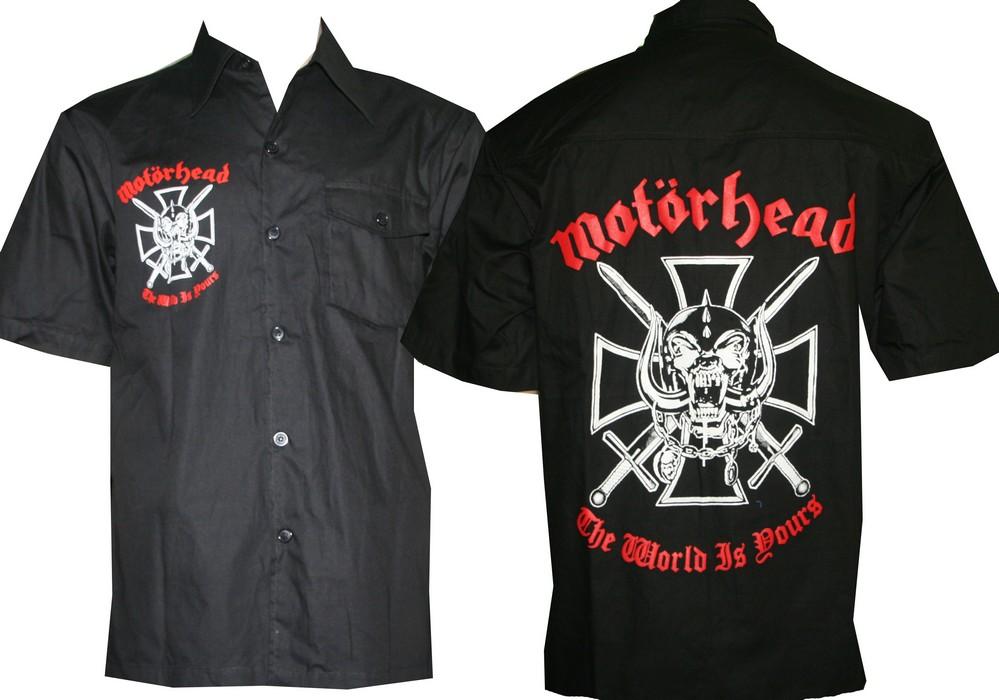 "6418b4b927ae SMALL SIZES!"" Motorhead shirt The World is Yours size XXL – RoxxBKK"