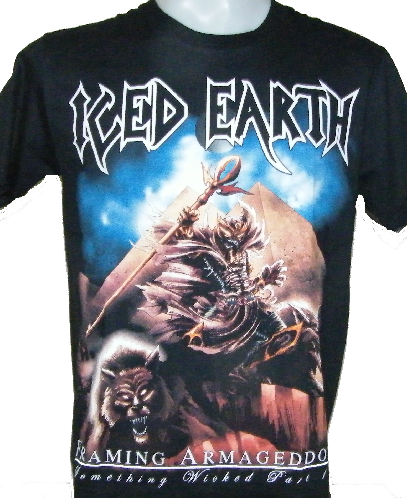 Iced Earth t-shirt Framing Armageddon size M – RoxxBKK
