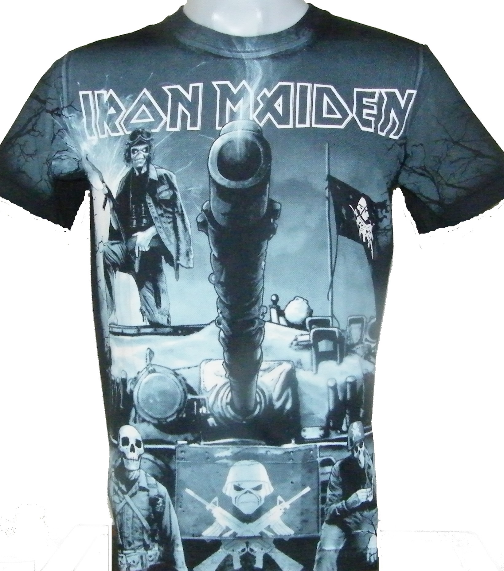 f0a2584d Iron Maiden t-shirt A Matter of Life and Death size L – RoxxBKK