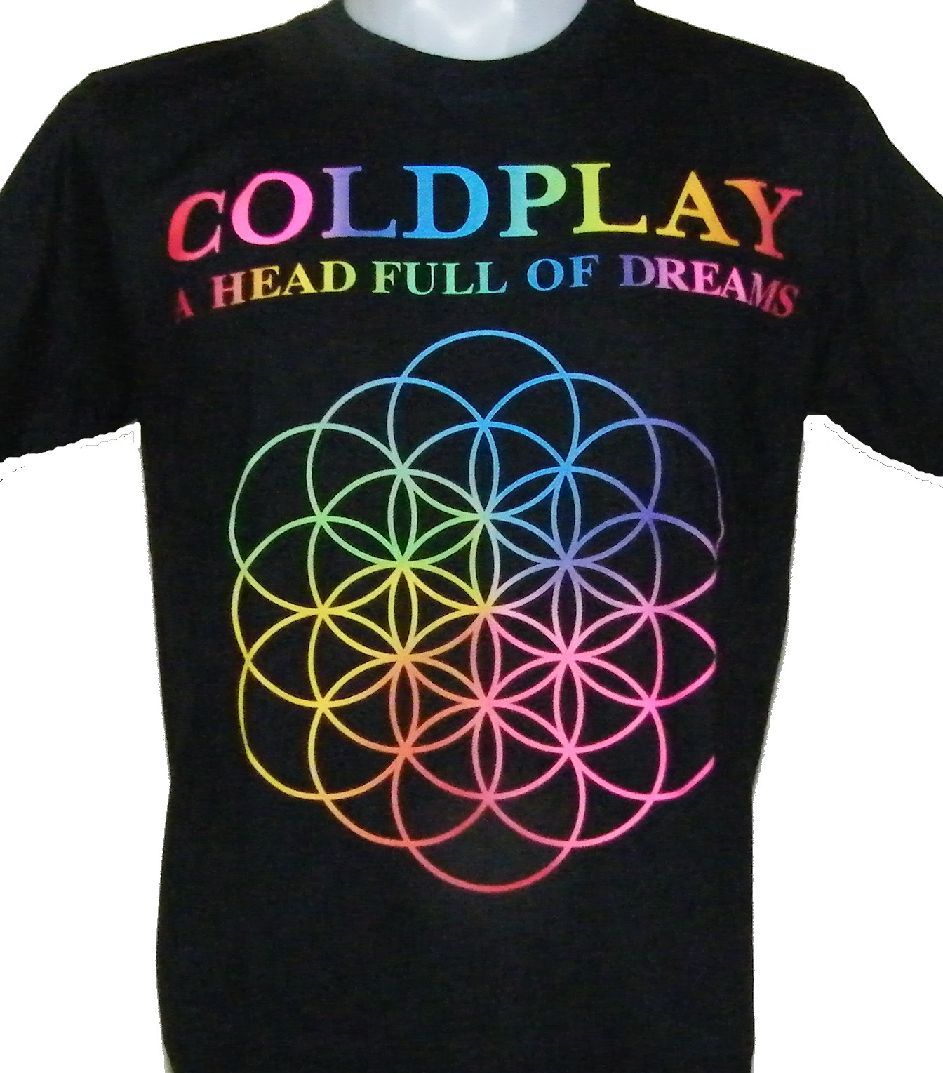 Used Clothing Wholesale >> Coldplay t-shirt A Head Full of Dreams size L – RoxxBKK