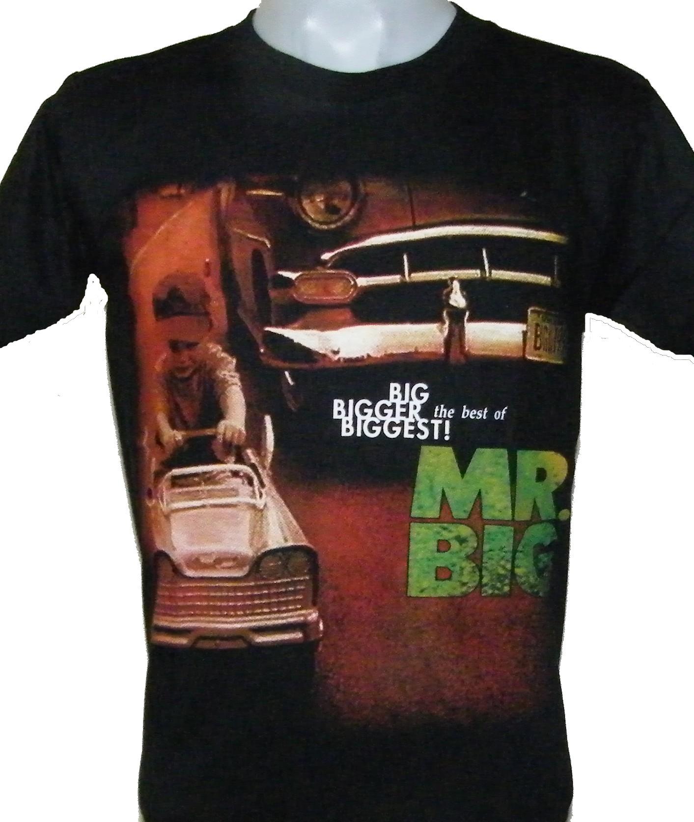 3c8b7243c Mr.Big t-shirt Big Bigger Biggest! size M