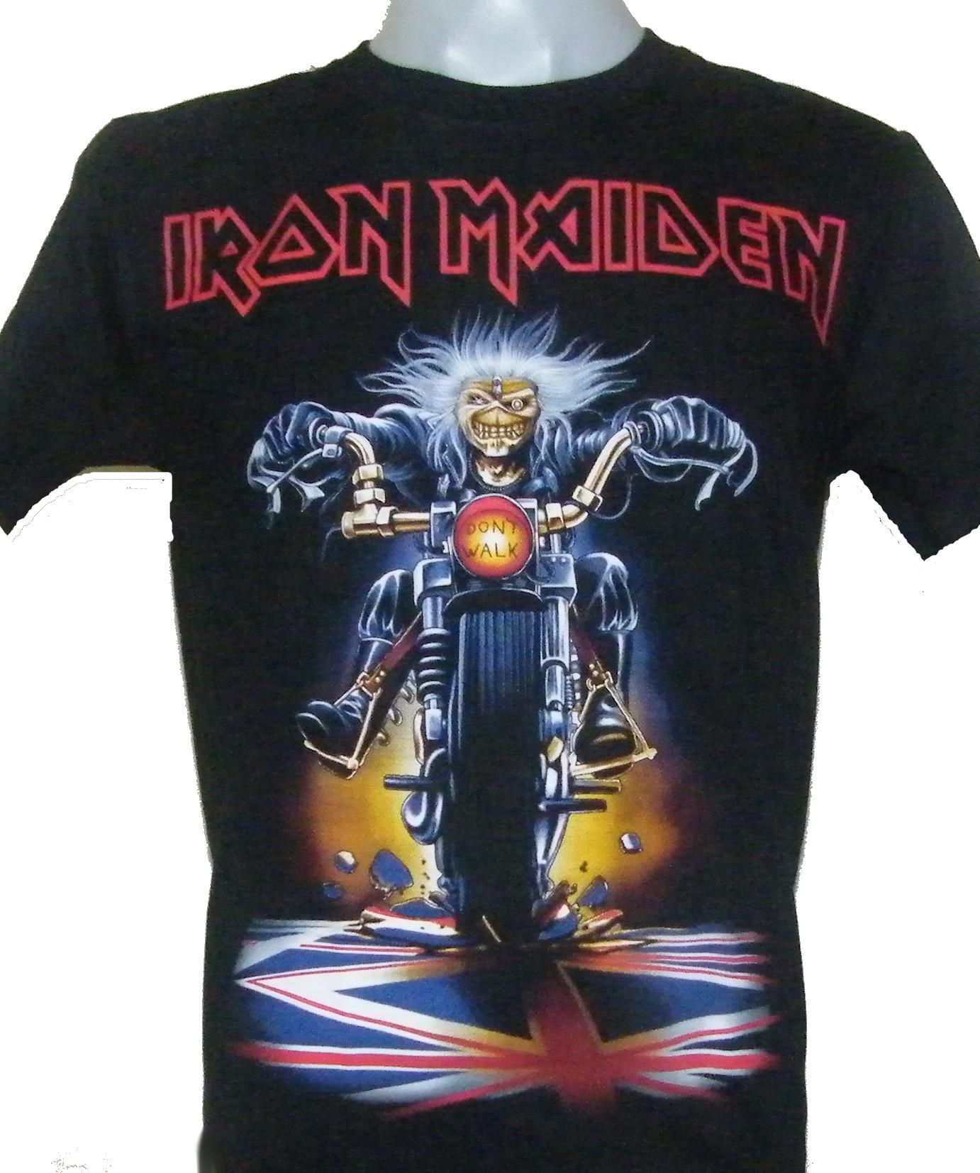 7004f313 Iron Maiden t-shirt Don`t Walk size L – RoxxBKK