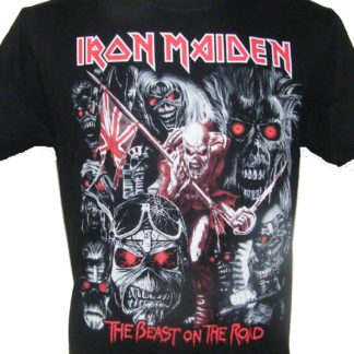 93d1530c6 Iron Maiden t-shirt The Beast on the Road size L