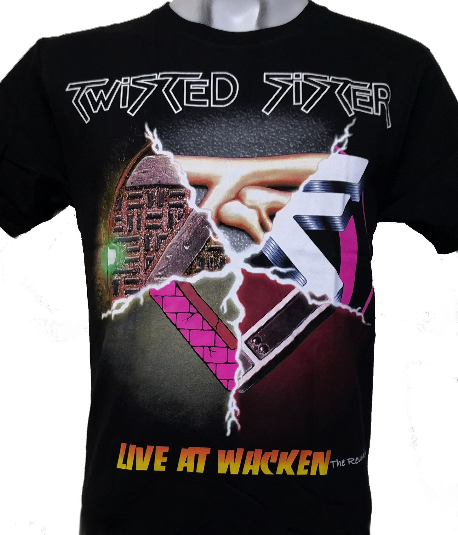 Topless 76´ Men/'s T-Shirt S-XXL Sizes Officially Licensed Twisted Sister