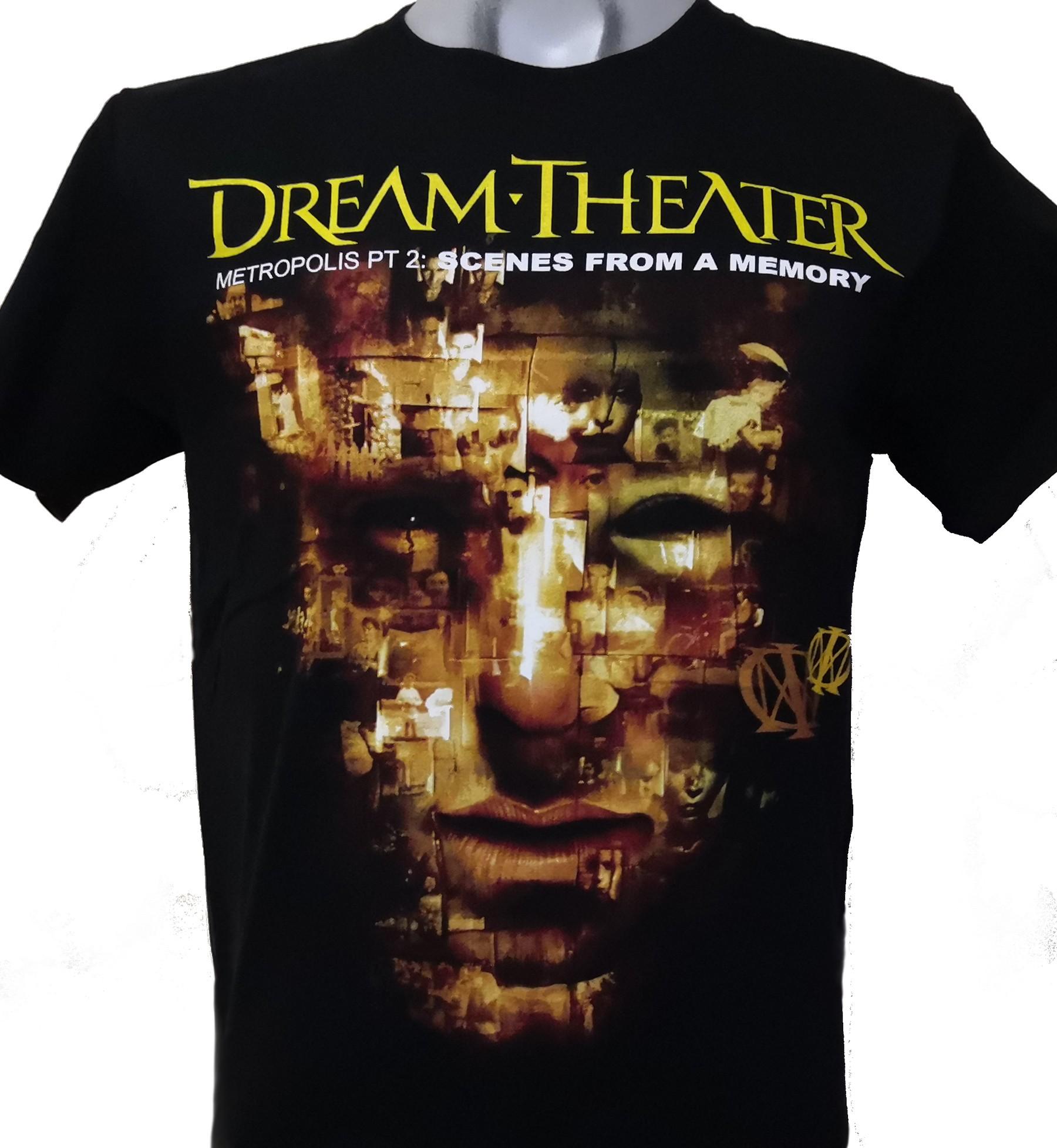 Dream Theater T Shirt Metropolis Pt 2 Scenes From A Memory Size M Roxxbkk