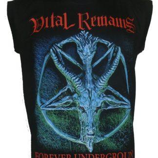 Vital Remains Forever Underground T-shirt à manches longues Taille S M L XL 2XL 3XL nouveau!