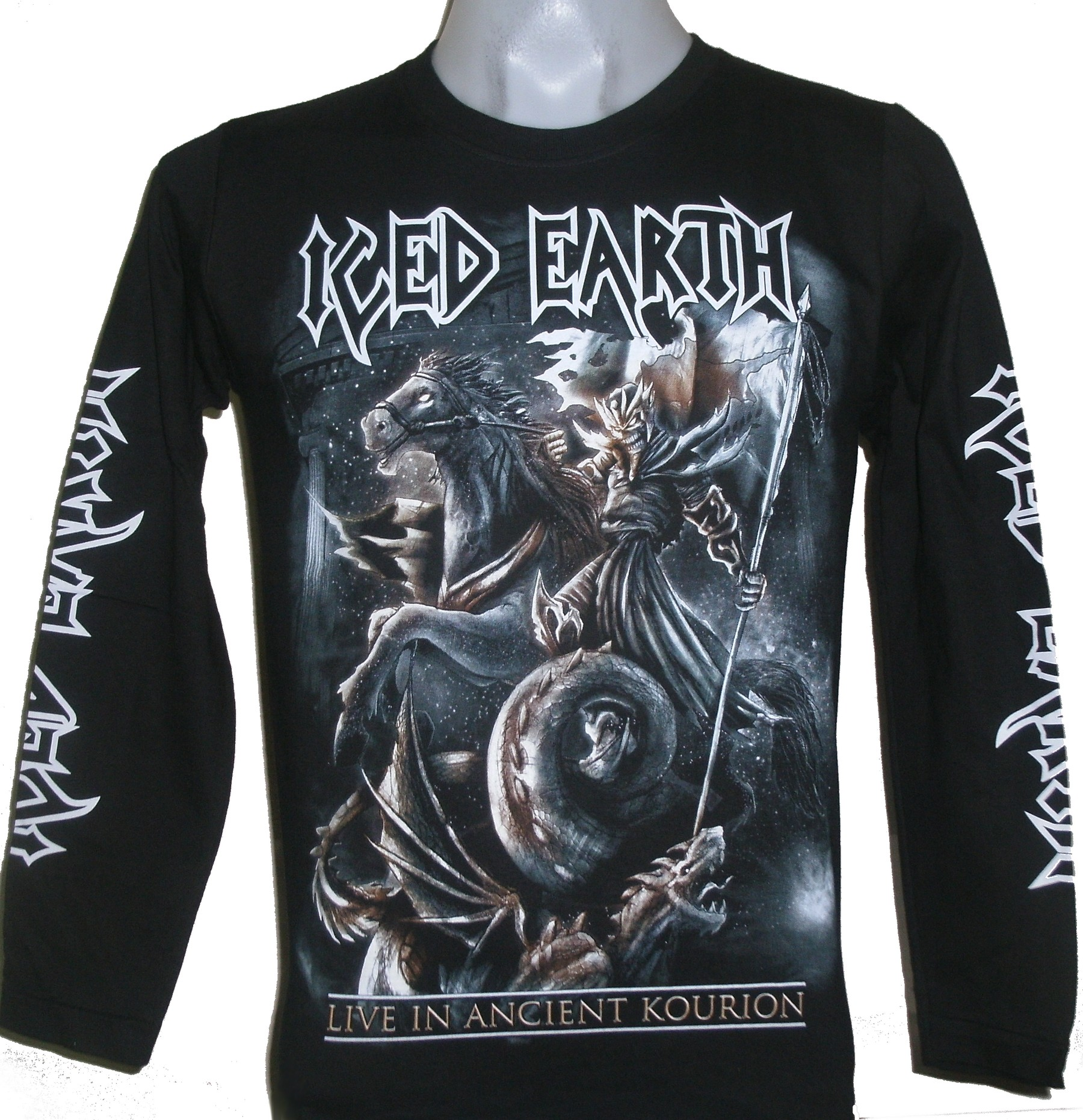 Iced Earth long-sleeved t-shirt Live in Ancient Kourion size XL ... 9017daed60