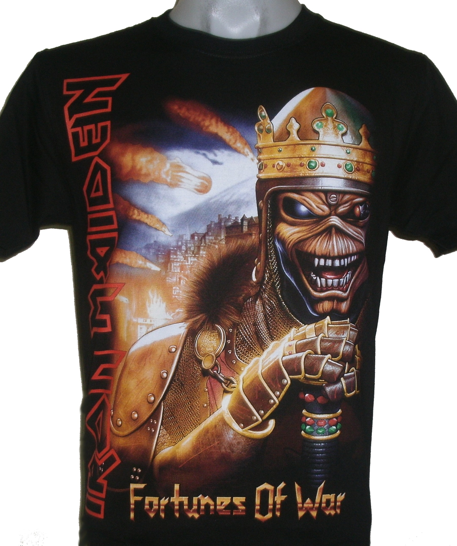 2eb1b65d Iron Maiden t-shirt Fortunes of War size XL – RoxxBKK