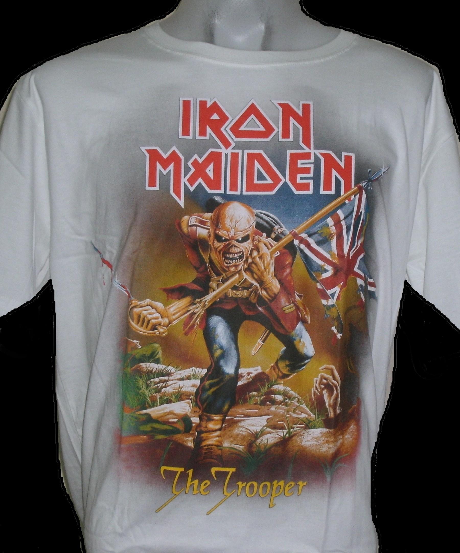 f43cf41b Iron Maiden t-shirt The Trooper size L – RoxxBKK