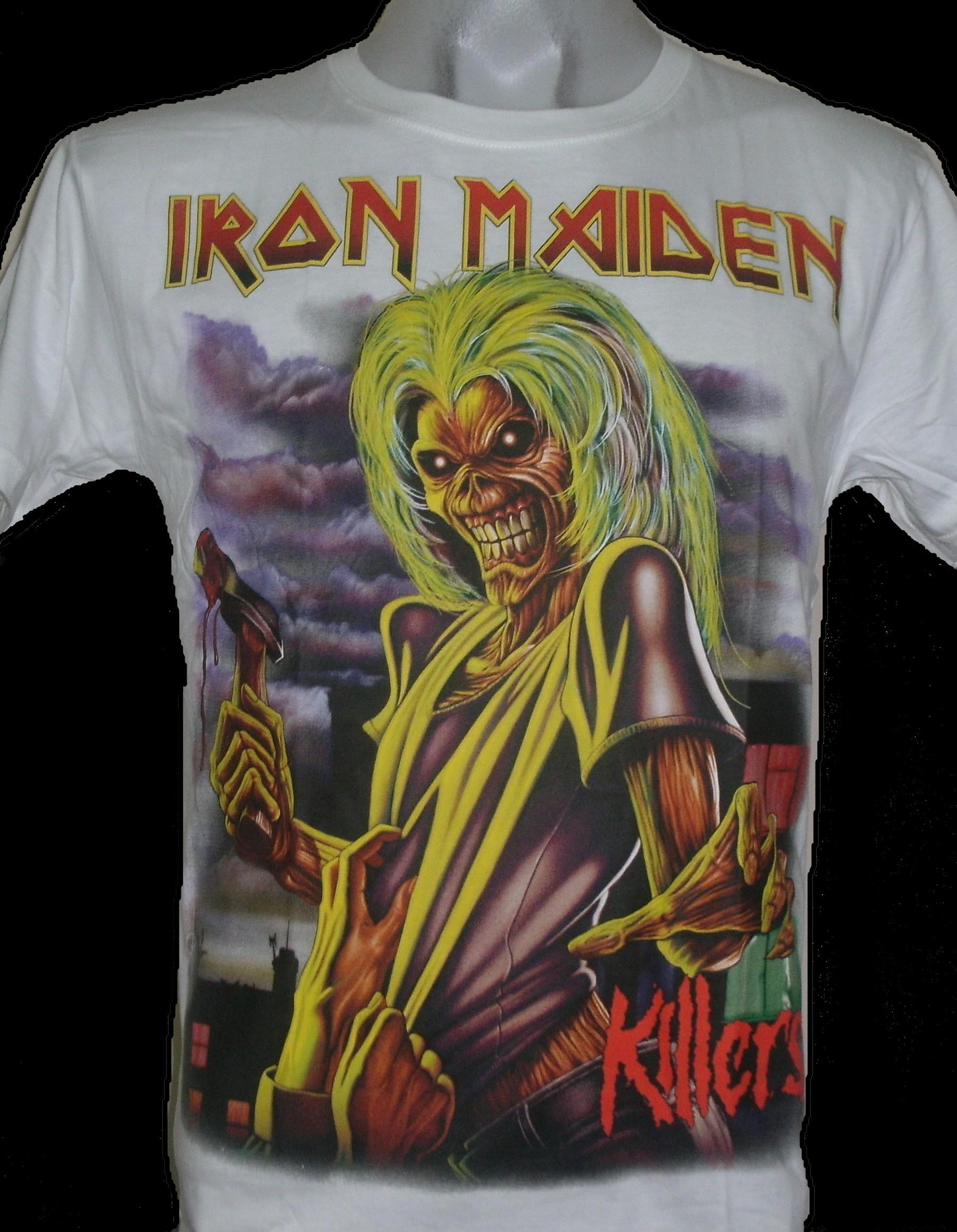 70f13fbc Iron Maiden t-shirt Killers size L – RoxxBKK