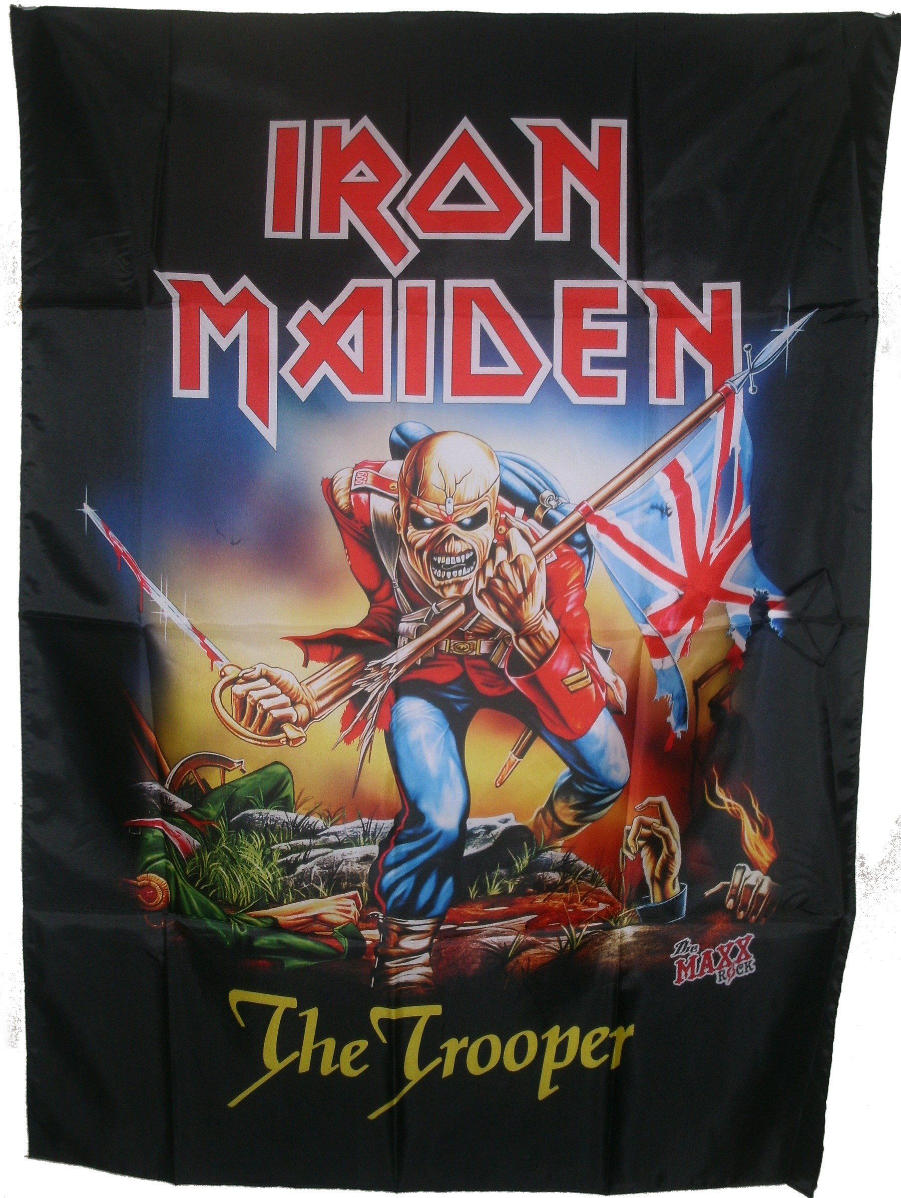 Iron Maiden Large Poster Flag The Trooper
