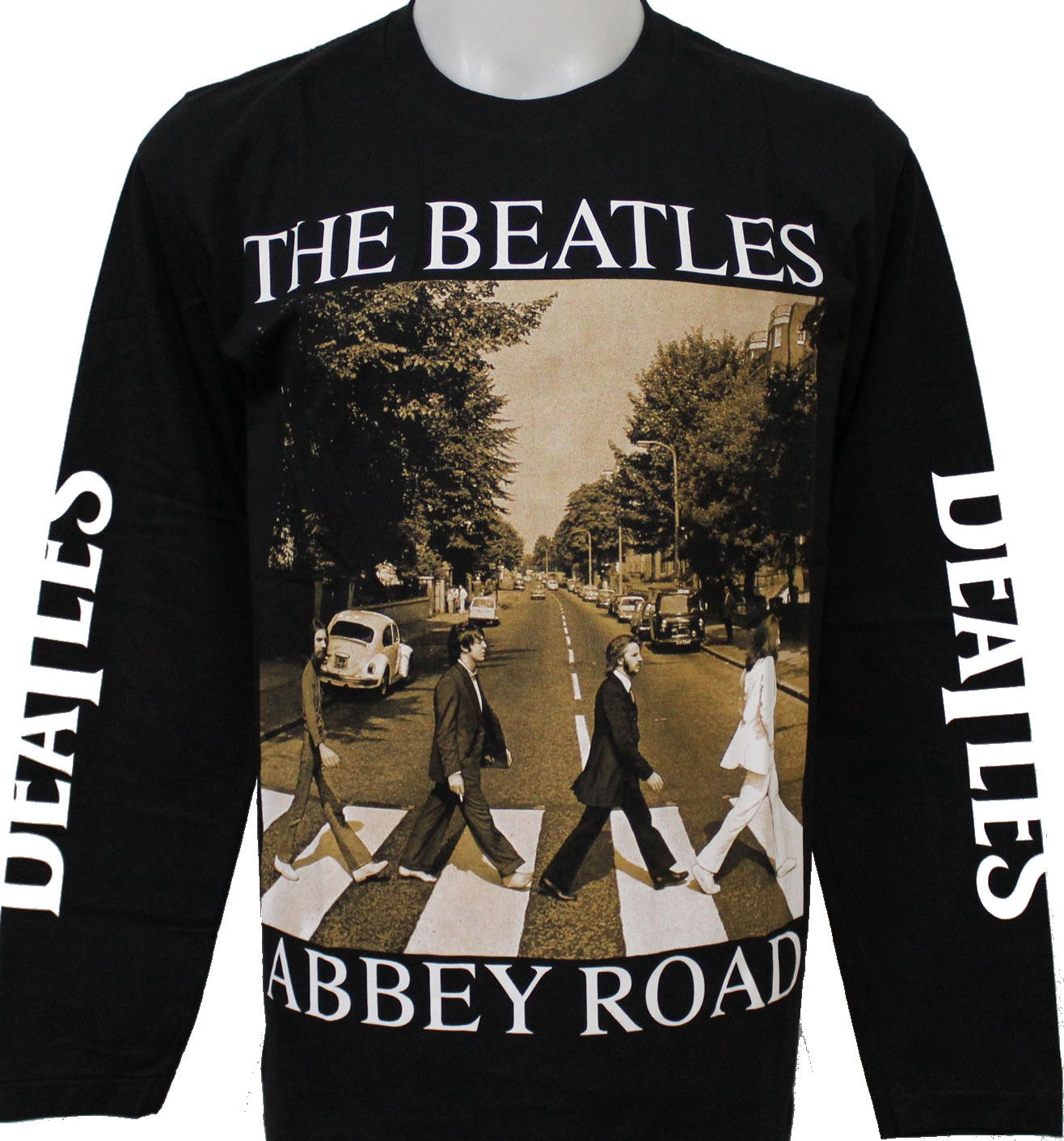 The Beatles long sleeved t shirt Abbey Road size XXL