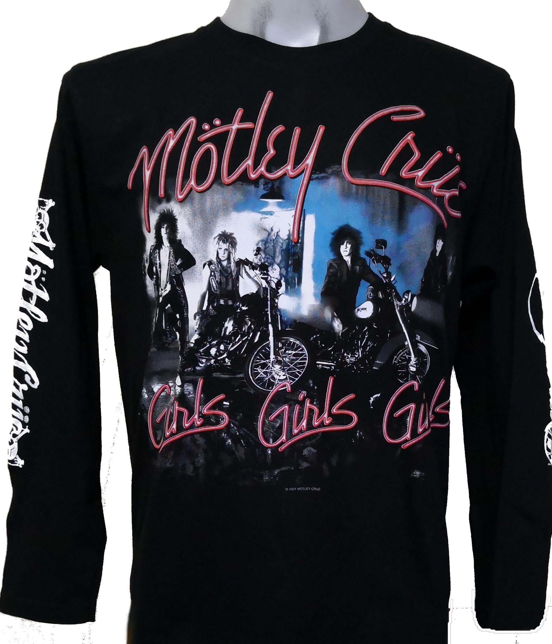 4a83484baf5a Mötley Crüe long-sleeved t-shirt Girls Girls Girls size M – RoxxBKK