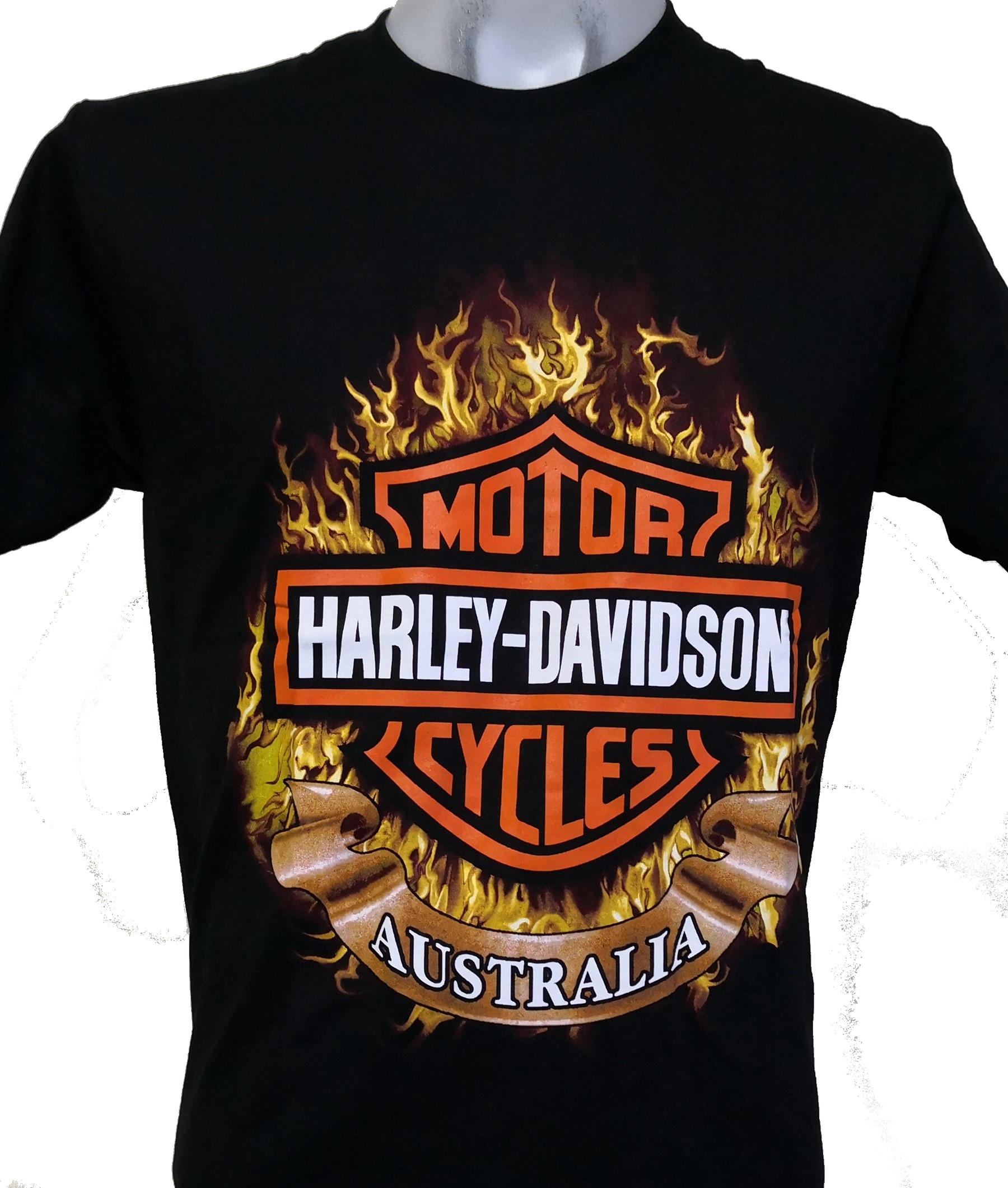 harley davidson t shirt australia size m roxxbkk. Black Bedroom Furniture Sets. Home Design Ideas