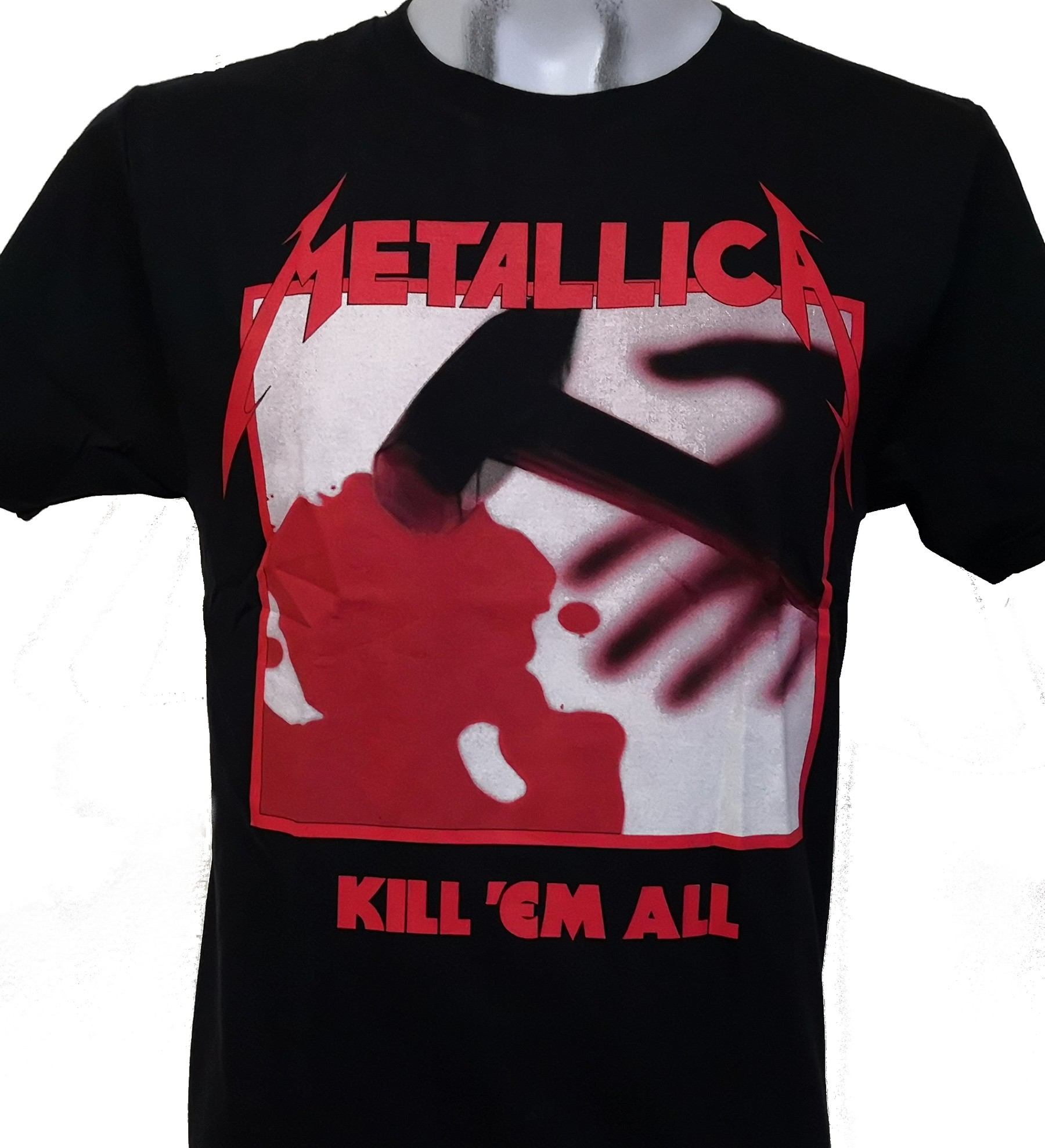 Metallica  Kids  100/% Cotton Black T-shirt sizes 2-4  4-6  6-8  8-10  10-12