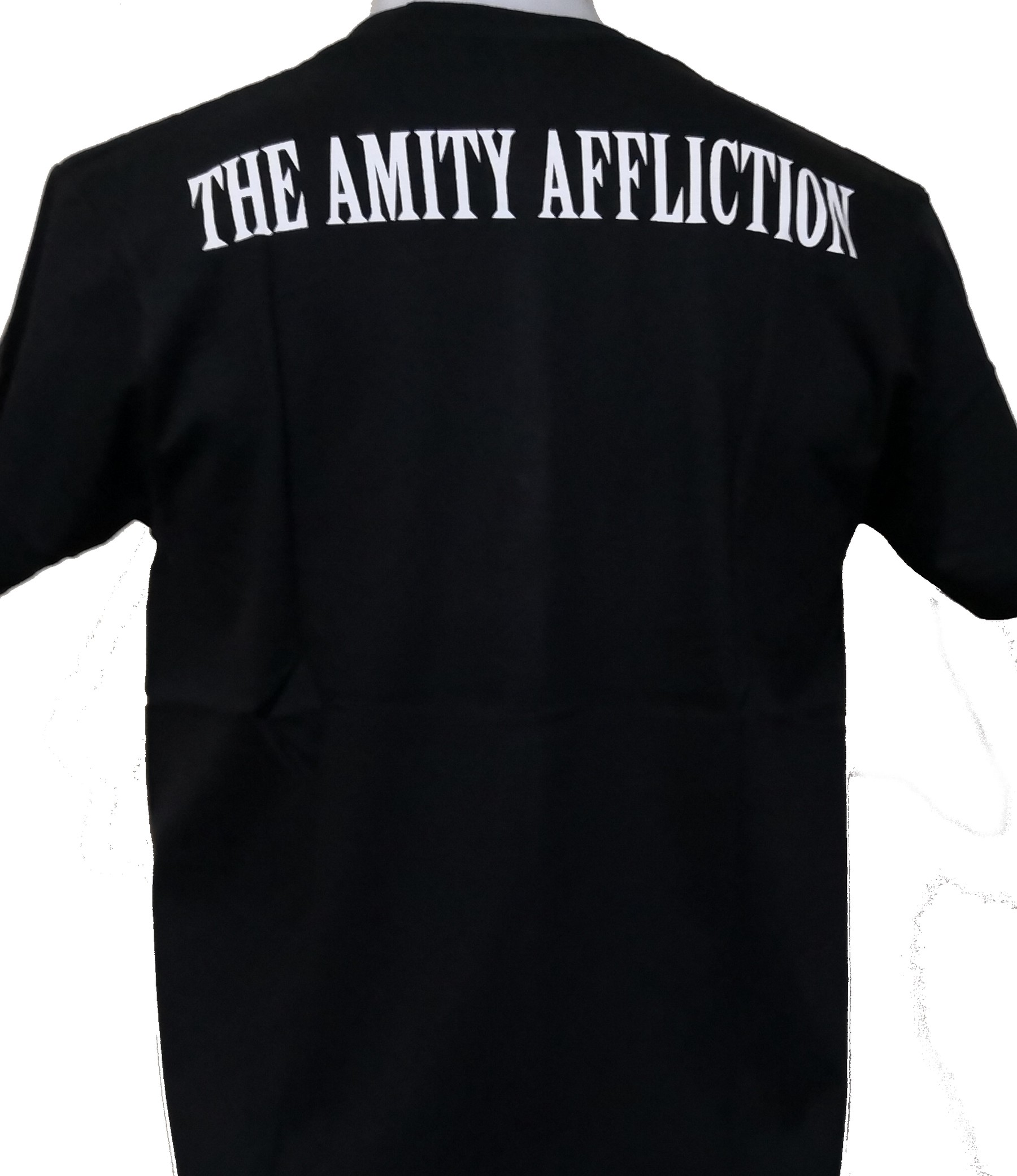 The Amity Affliction Misery Womans Casual 3//4 Sleeve Loose Tunic Tops Scoop Neck Tees