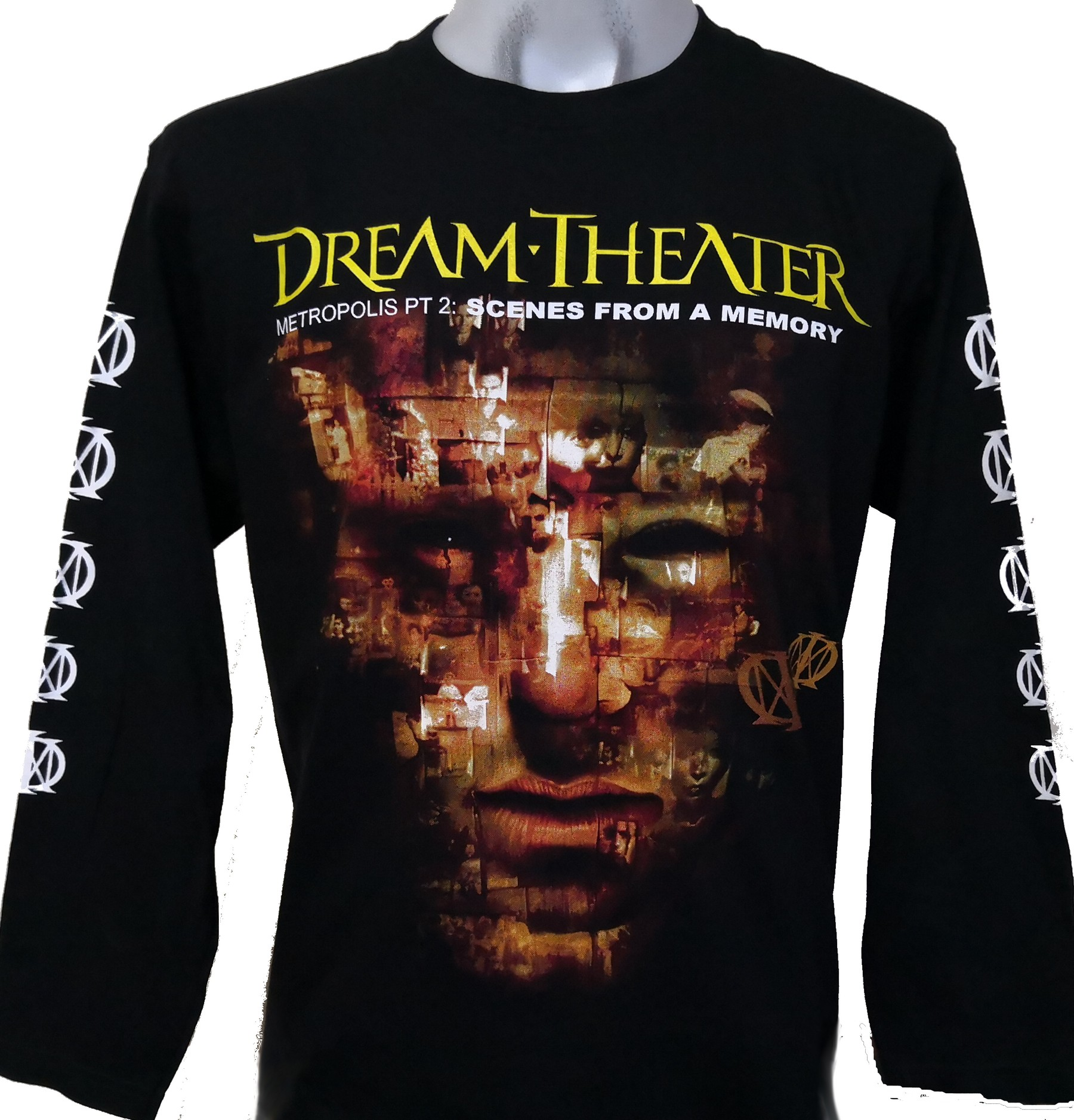Dream Theater Long Sleeved T Shirt Metropolis Pt 2 Scenes From A Memory Size M Roxxbkk