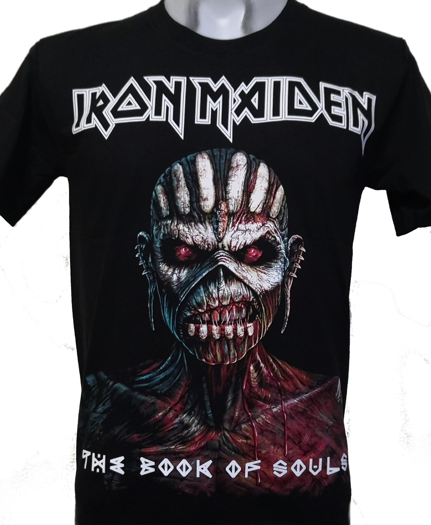 Amplified Iron Maiden Book of Souls T-Shirt Gr/ö/ße:XL;Farbe:Black