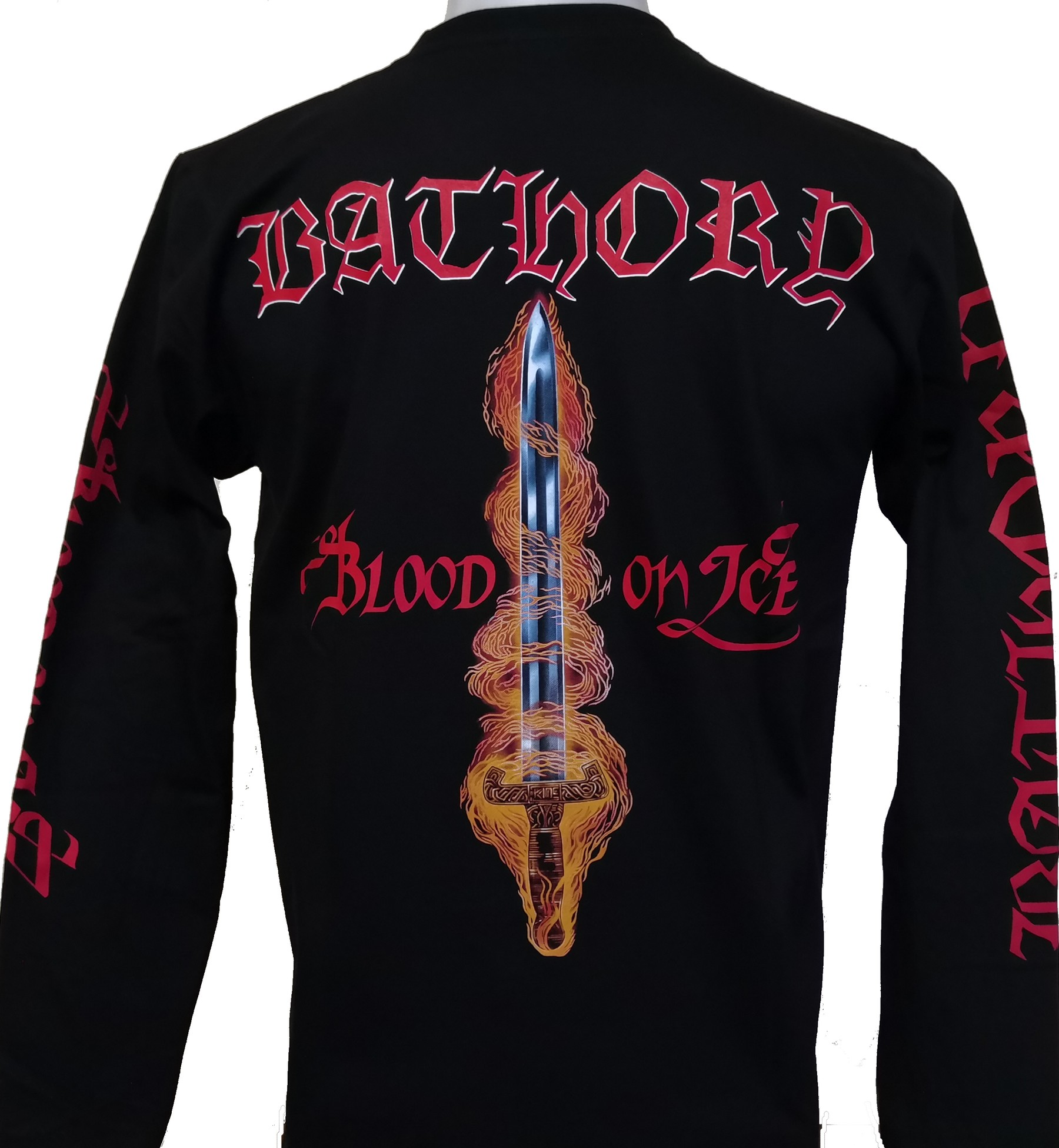 NEW /& OFFICIAL! Bathory /'Under The Sign/' Long Sleeve Shirt