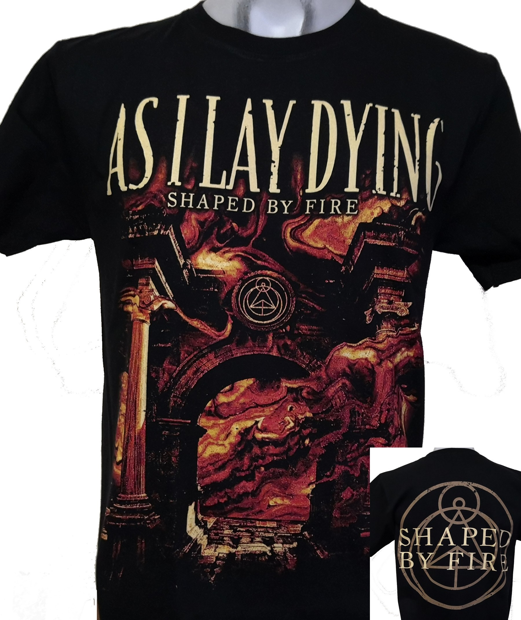 AS I LAY DYING Shaped By Fire T-Shirt