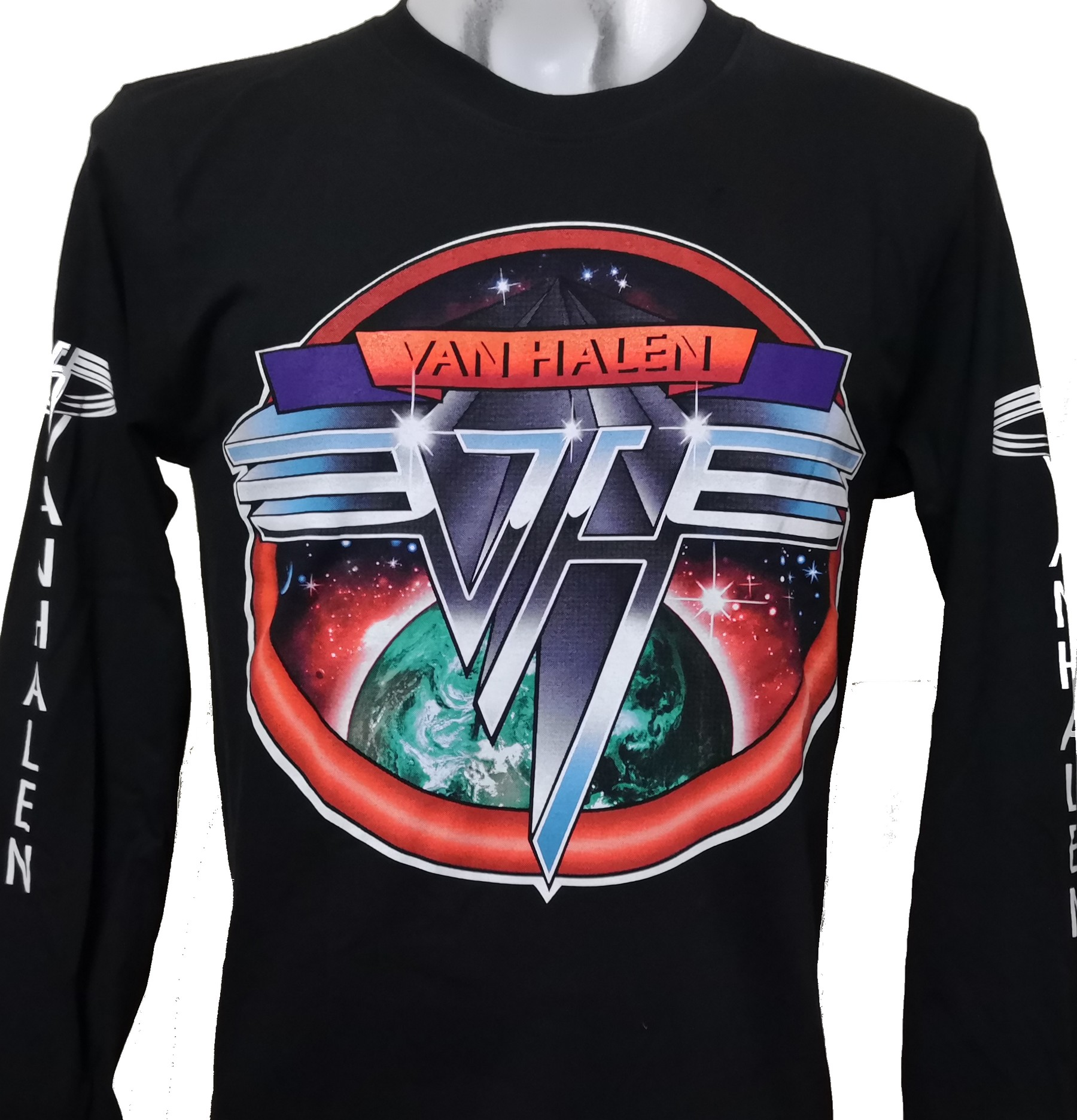 New Eddie Van Halen RARE Long Sleeve Shirt Size S M L XL 2XL P364